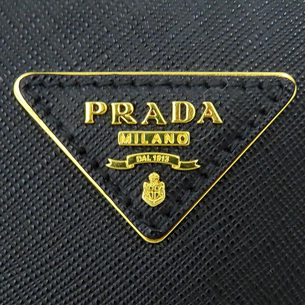 Prada(프라다) 1BA274 SAFFIANO LUX NERO 사피아노 럭스 블랙 금장로고 토트백 + 숄더스트랩 [대전본점] 이미지6 - 고이비토 중고명품