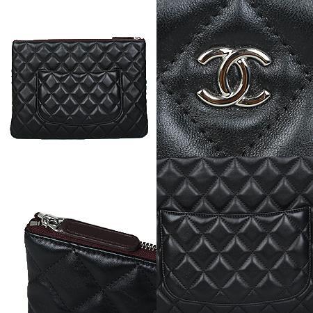 Chanel(샤넬) COCO로고 은장 뉴미디움 클러치백[광주상무점] 이미지4 - 고이비토 중고명품