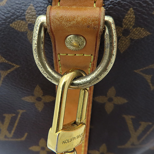 Louis Vuitton(루이비통) M40392 모노그램 캔버스 반둘리에 스피디 35 토트백+숄더스트랩 2WAY [부산서면롯데점] 이미지3 - 고이비토 중고명품