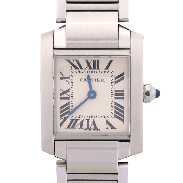 Cartier(까르띠에) W51008Q3 탱크 프랑세스 S사이즈 쿼츠 스틸 여성용 시계 [강남본점] 이미지2 - 고이비토 중고명품