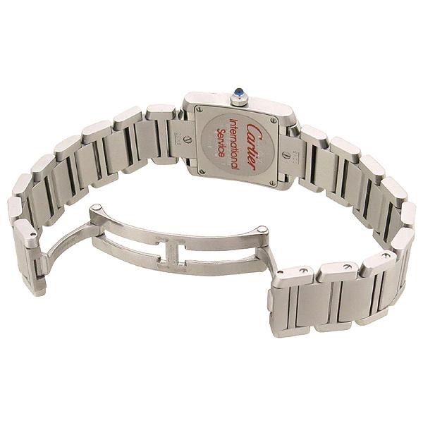 Cartier(까르띠에) W51008Q3 탱크 프랑세스 S사이즈 쿼츠 스틸 여성용 시계 [강남본점] 이미지4 - 고이비토 중고명품