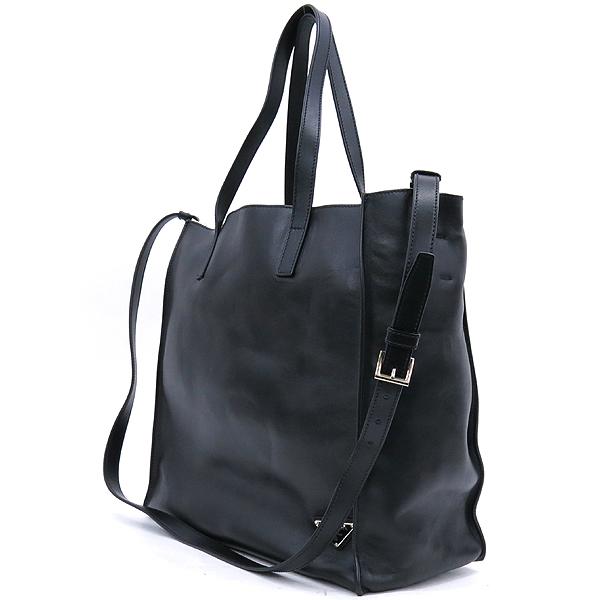 Prada(프라다) 2VG088 블랙 컬러 레더 삼각 로고 장식 숄더백 [강남본점] 이미지3 - 고이비토 중고명품