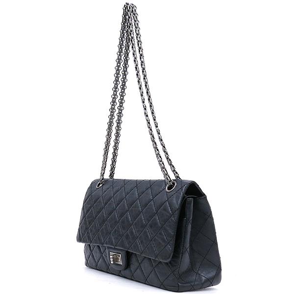 Chanel(샤넬) A37587 블랙 빈티지 2.55 M사이즈 은장 체인 숄더백 [강남본점] 이미지3 - 고이비토 중고명품