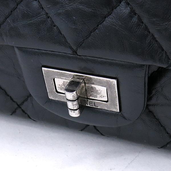 Chanel(샤넬) A37587 블랙 빈티지 2.55 M사이즈 은장 체인 숄더백 [강남본점] 이미지4 - 고이비토 중고명품