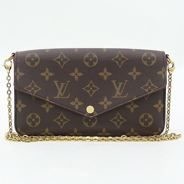 Louis Vuitton(루이비통) M61276 모노그램 캔버스 펠리시 체인 월릿 크로스겸 클러치백 [강남본점] 이미지2 - 고이비토 중고명품
