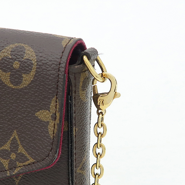 Louis Vuitton(루이비통) M61276 모노그램 캔버스 펠리시 체인 월릿 크로스겸 클러치백 [강남본점] 이미지4 - 고이비토 중고명품