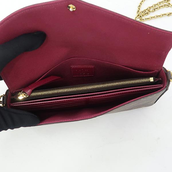 Louis Vuitton(루이비통) M61276 모노그램 캔버스 펠리시 체인 월릿 크로스겸 클러치백 [강남본점] 이미지5 - 고이비토 중고명품