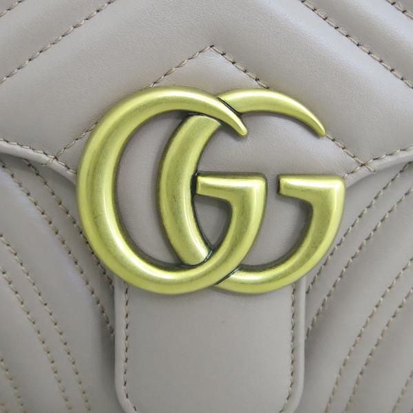 Gucci(구찌) 498079 베이지 컬러 레더 마몬트 마틀라세 클러치 [동대문점] 이미지5 - 고이비토 중고명품