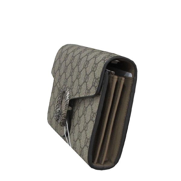 Gucci(구찌) 401231 GG로고 PVC Dionysus(디오니소스) GG 수프림 미니 플랩 체인 크로스백 [대구반월당본점] 이미지3 - 고이비토 중고명품