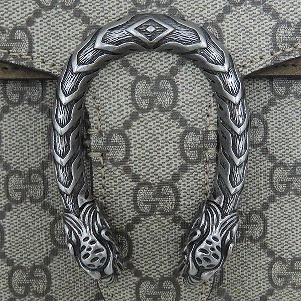 Gucci(구찌) 400249 Dionysus(디오니소스) 타이거 헤드 GG로고 수프림 캔버스 체인 브라운 컬러 숄더백 [대전본점] 이미지6 - 고이비토 중고명품