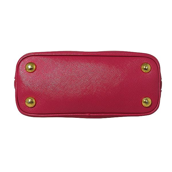 Prada(프라다) BL0851 SAFFIANO LUX(사피아노 럭스) 핑크 컬러 금장 로고 미니 2WAY [대전본점] 이미지4 - 고이비토 중고명품