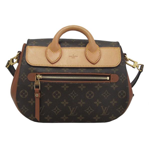 Louis Vuitton(루이비통) M40582 모노그램 캔버스 브라운 레더 에덴 MM 토트백 + 숄더스트랩 2WAY [대구반월당본점] 이미지4 - 고이비토 중고명품