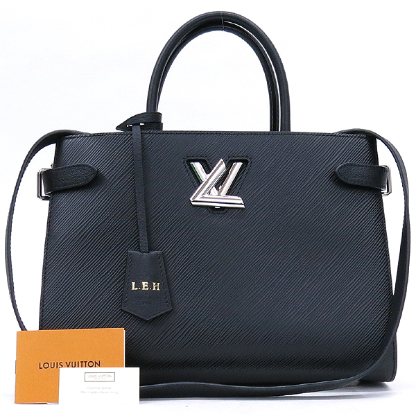 Louis Vuitton(루이비통) M54810 블랙 느와르컬러 에삐 트위스트 토트백 + 숄더스트랩 2WAY [강남본점]