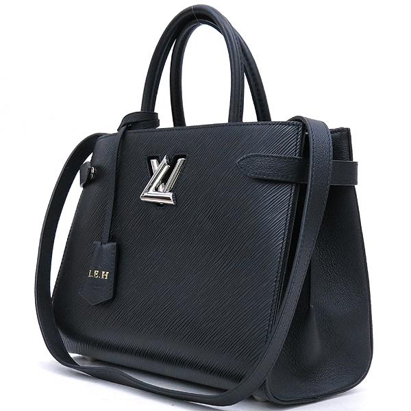 Louis Vuitton(루이비통) M54810 블랙 느와르컬러 에삐 트위스트 토트백 + 숄더스트랩 2WAY [강남본점] 이미지3 - 고이비토 중고명품