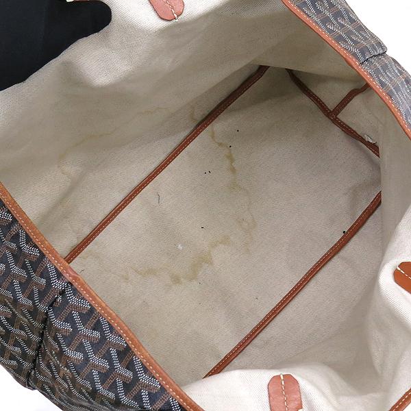 GOYARD(고야드) 블랙 브라운 생루이 GM 숄더백 + 보조 파우치 [강남본점] 이미지4 - 고이비토 중고명품
