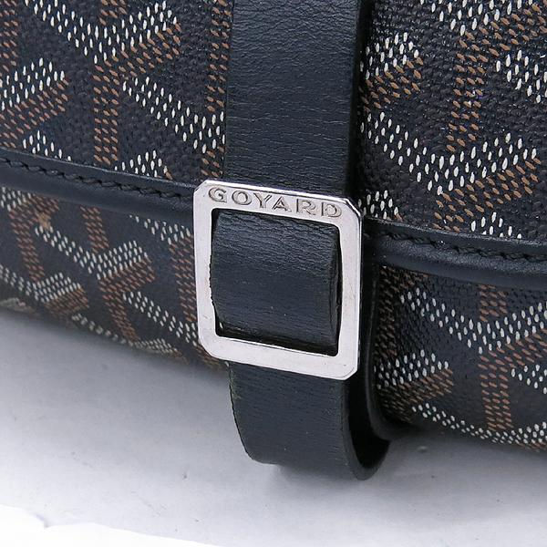 GOYARD(고야드) 블랙 컬러 BELVEDERE(벨베데르) GM 크로스백 [강남본점] 이미지3 - 고이비토 중고명품
