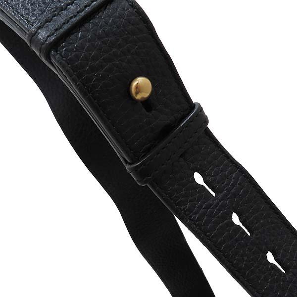 Gucci(구찌) 401173 블랙 레더 금장 마몬트 로고 플랩 숄더백 [인천점] 이미지5 - 고이비토 중고명품