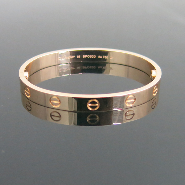 Cartier(까르띠에) B6035616 18K 핑크 골드 러브 팔찌-16호 [동대문점]