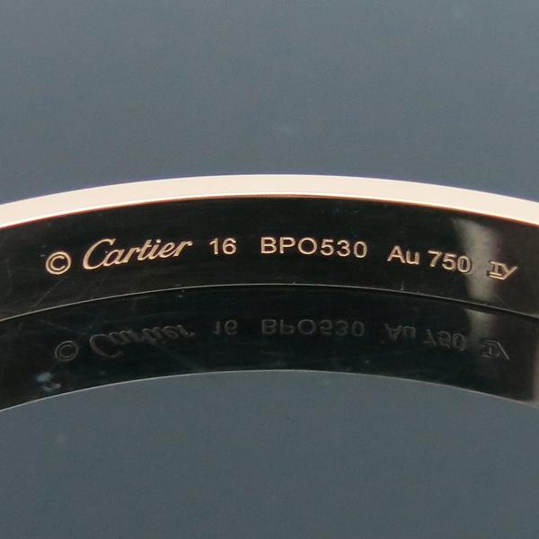 Cartier(까르띠에) B6035616 18K 핑크 골드 러브 팔찌-16호 [동대문점] 이미지5 - 고이비토 중고명품