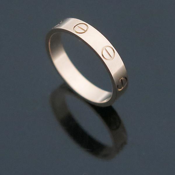 Cartier(까르띠에) B4085200 18K 핑크 골드 미니 러브링 반지- 12호 [부산센텀본점]