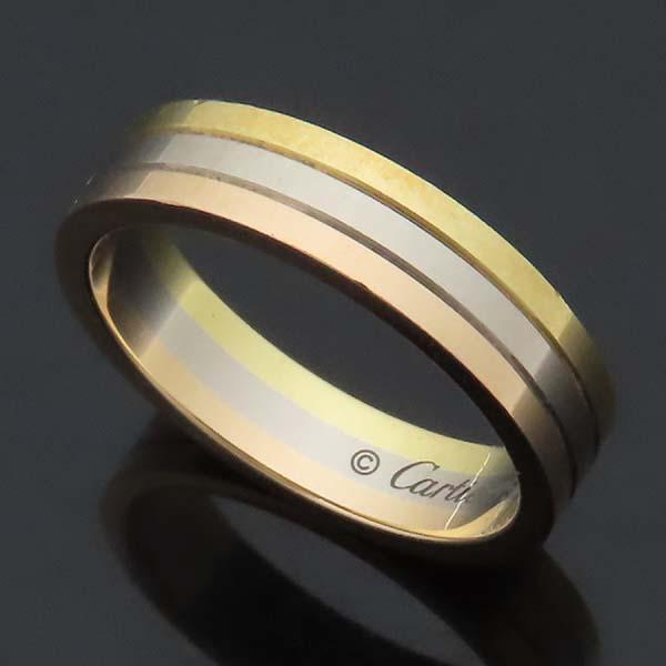 Cartier(까르띠에) B4052256 18K 삼색골드 Trinity wedding band 트리니티 웨딩 밴드 반지 - 56호 [인천점] 이미지2 - 고이비토 중고명품
