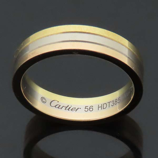 Cartier(까르띠에) B4052256 18K 삼색골드 Trinity wedding band 트리니티 웨딩 밴드 반지 - 56호 [인천점] 이미지4 - 고이비토 중고명품