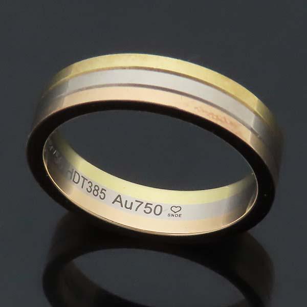 Cartier(까르띠에) B4052256 18K 삼색골드 Trinity wedding band 트리니티 웨딩 밴드 반지 - 56호 [인천점] 이미지5 - 고이비토 중고명품