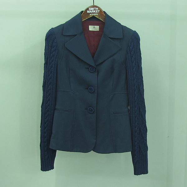 Aigner(아이그너) 블루 컬러 울 혼방 여성용 자켓 [동대문점]