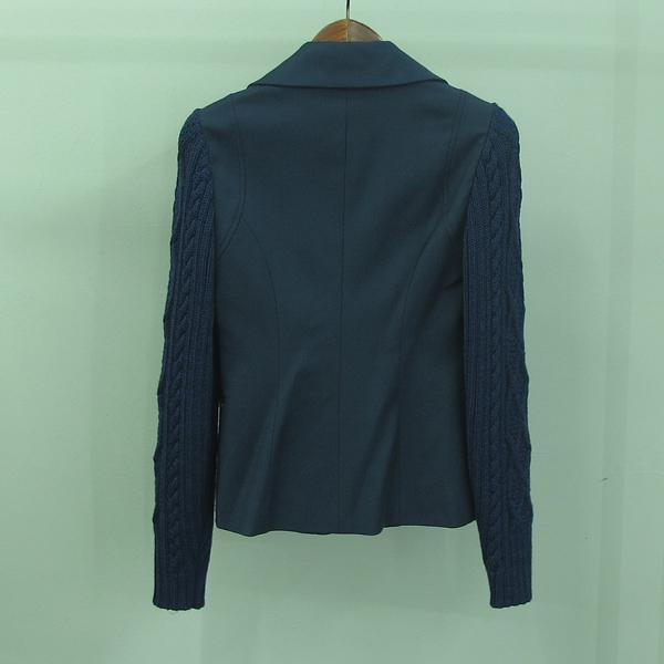 Aigner(아이그너) 블루 컬러 울 혼방 여성용 자켓 [동대문점] 이미지2 - 고이비토 중고명품