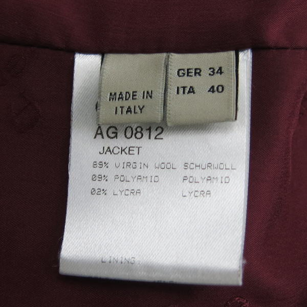 Aigner(아이그너) 블루 컬러 울 혼방 여성용 자켓 [동대문점] 이미지4 - 고이비토 중고명품