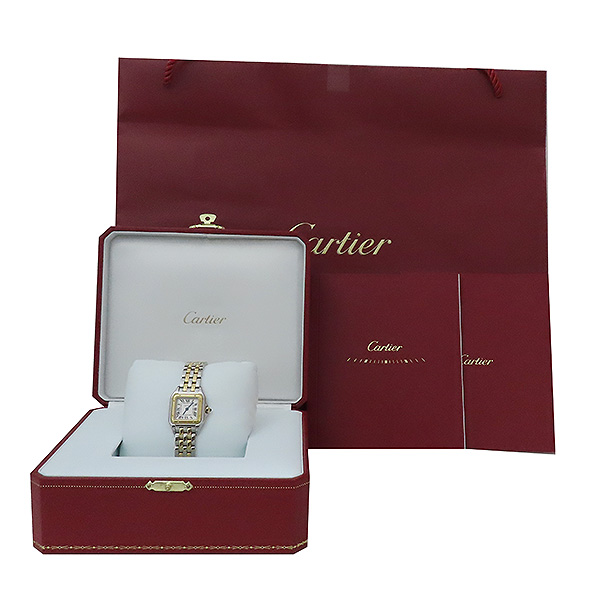 Cartier(까르띠에) W2PN0006 신형 팬더 18k(750) 골드 콤비 스몰 사이즈 쿼츠 여성용 시계 [부산서면롯데점]
