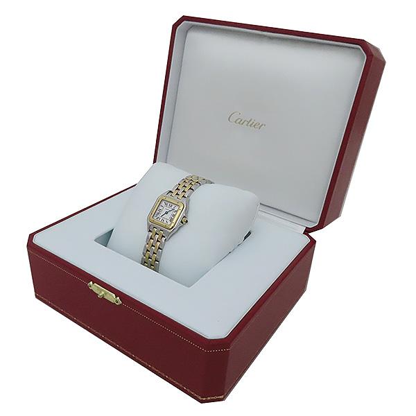 Cartier(까르띠에) W2PN0006 신형 팬더 18k(750) 골드 콤비 스몰 사이즈 쿼츠 여성용 시계 [부산서면롯데점] 이미지2 - 고이비토 중고명품