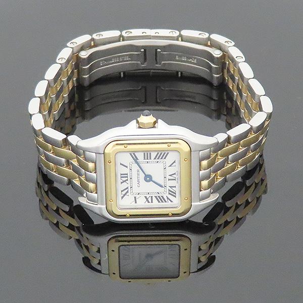 Cartier(까르띠에) W2PN0006 신형 팬더 18k(750) 골드 콤비 스몰 사이즈 쿼츠 여성용 시계 [부산서면롯데점] 이미지4 - 고이비토 중고명품