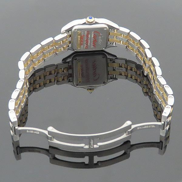 Cartier(까르띠에) W2PN0006 신형 팬더 18k(750) 골드 콤비 스몰 사이즈 쿼츠 여성용 시계 [부산서면롯데점] 이미지7 - 고이비토 중고명품
