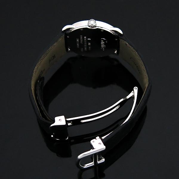 Cartier(까르띠에) WR000251 18K 화이트 골드 금통 다이아 RONDE (롱드) LOUIS (루이) 가죽 밴드 쿼츠 여성용 시계 [부산센텀본점] 이미지5 - 고이비토 중고명품