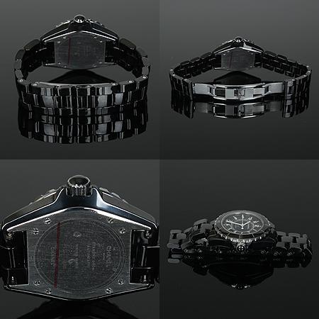 Chanel(샤넬) J12 매트블랙 세라믹 38MM 남성용 시계[광주상무점] 이미지5 - 고이비토 중고명품
