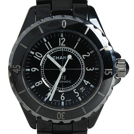 Chanel(샤넬) J12 매트블랙 세라믹 38MM 남성용 시계[광주상무점]