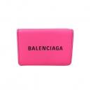 Balenciaga(발렌시아가) 551921 핑크 레더 에브리데이 미니 반지갑 [부산서면롯데점]