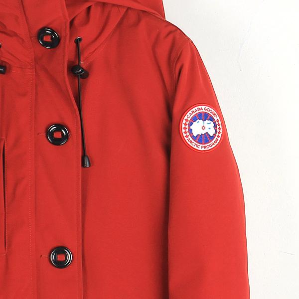 CANADA GOOSE(캐나다구스) 3800L 레드 컬러 RIDEAU (리도) 여성용 패딩 점퍼 [강남본점] 이미지2 - 고이비토 중고명품