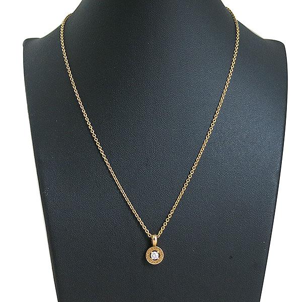 Bvlgari(불가리) CL853337  불가리 18K 옐로우골드 0.25CT 다이아몬드 여성용 목걸이 [대구동성로점] 이미지2 - 고이비토 중고명품