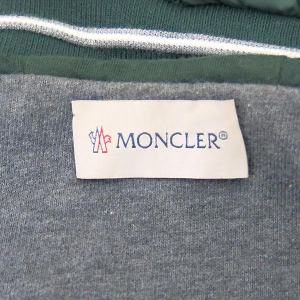 MONCLER(몽클레어) 그린 컬러 MAGLIA 후드 가디건 -12세 [부산센텀본점] 이미지5 - 고이비토 중고명품