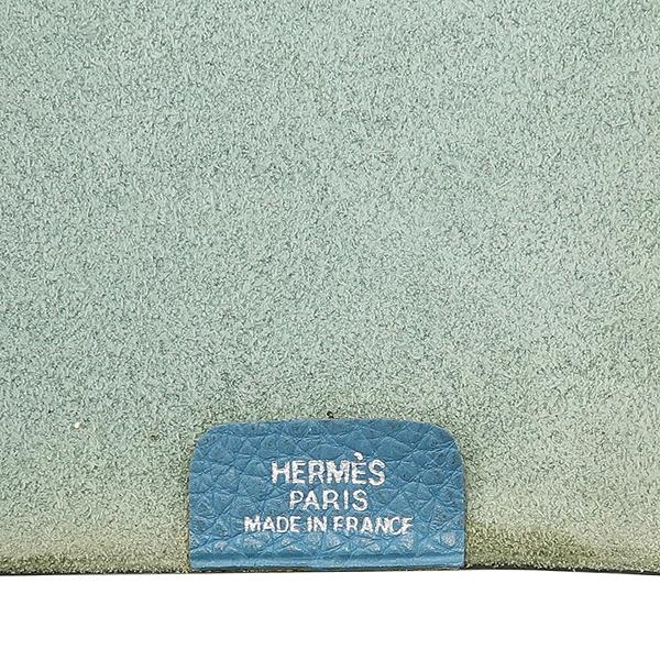 Hermes(에르메스) 스카이블루레더 다이어리 커버 [강남본점] 이미지4 - 고이비토 중고명품