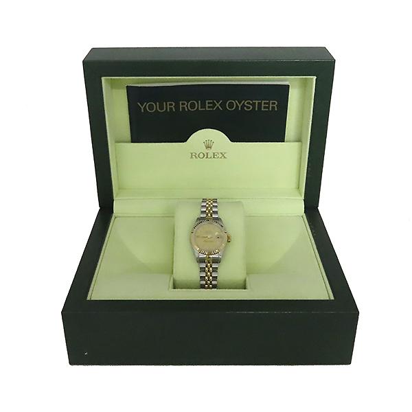 Rolex(로렉스) 69173 18K 콤비 보카시판 DATE JUST(데이트 저스트) 여성용 시계 [대전본점]