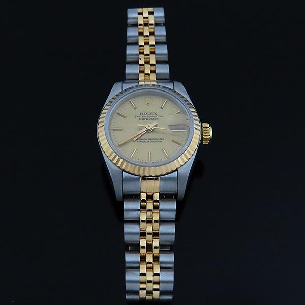 Rolex(로렉스) 69173 18K 콤비 보카시판 DATE JUST(데이트 저스트) 여성용 시계 [대전본점] 이미지2 - 고이비토 중고명품