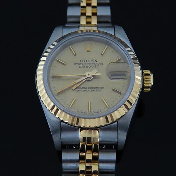 Rolex(로렉스) 69173 18K 콤비 보카시판 DATE JUST(데이트 저스트) 여성용 시계 [대전본점] 이미지3 - 고이비토 중고명품