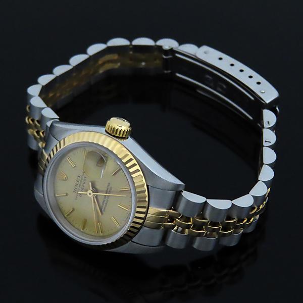 Rolex(로렉스) 69173 18K 콤비 보카시판 DATE JUST(데이트 저스트) 여성용 시계 [대전본점] 이미지4 - 고이비토 중고명품