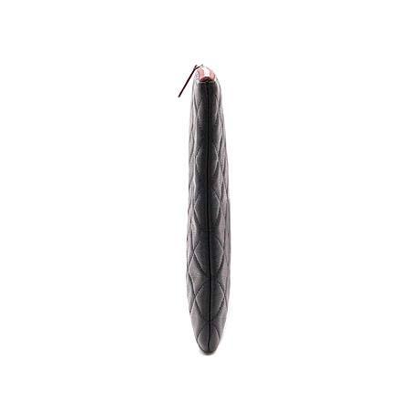 Chanel(샤넬) 캐비어스킨 COCO 은장 로고 L 클러치백 (W) 이미지3 - 고이비토 중고명품