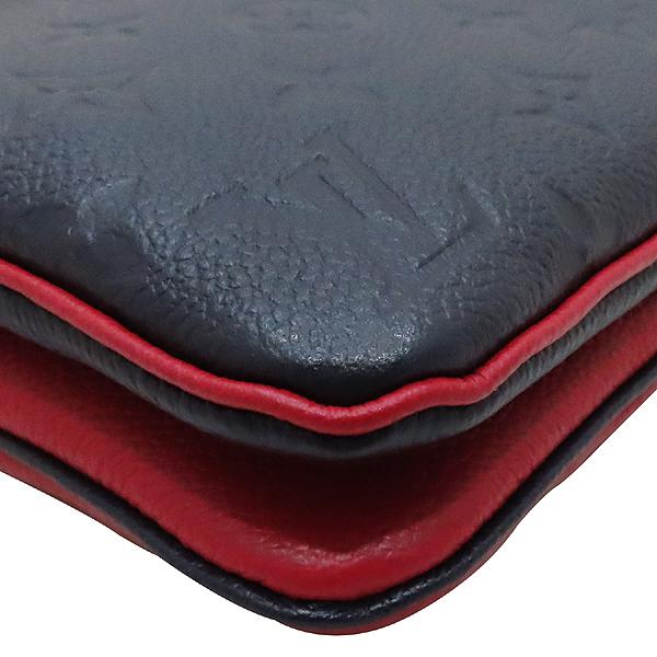 Louis Vuitton(루이비통) M63916 마린 라우지 앙프렝뜨 포쉐트 더블 집 금장 파우치 겸 체인 크로스백  [인천점] 이미지6 - 고이비토 중고명품