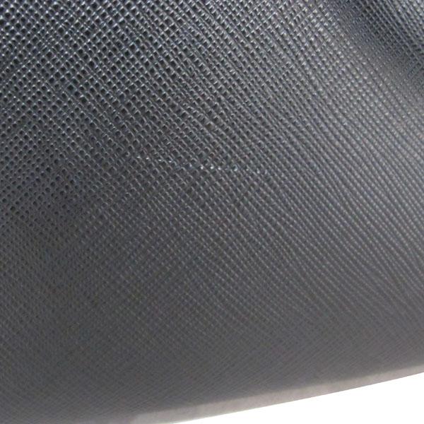 Prada(프라다) 1BA874 NERO 블랙 사피아노 럭스 금장로고 토트백 + 숄더스트랩 2WAY [대구반월당본점] 이미지5 - 고이비토 중고명품