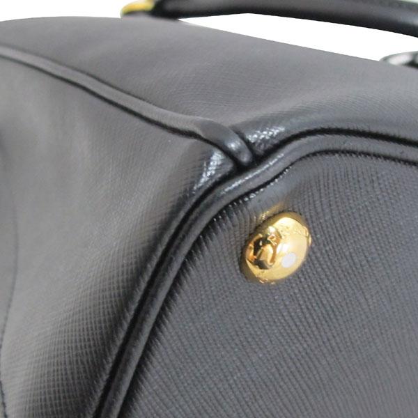 Prada(프라다) 1BA874 NERO 블랙 사피아노 럭스 금장로고 토트백 + 숄더스트랩 2WAY [대구반월당본점] 이미지6 - 고이비토 중고명품